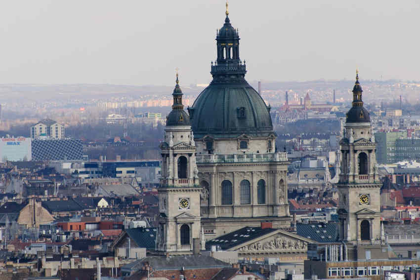 Budapest District V., St. Stephen's Basilica