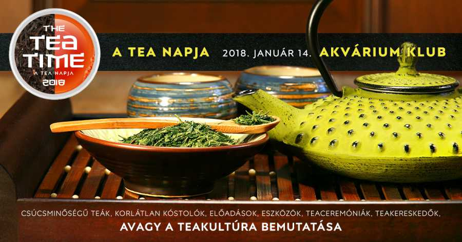 Budapest Tea Party - National Tea Day 2018