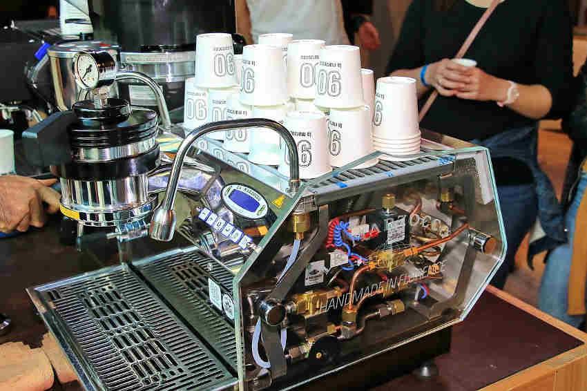 Coffee bar Budapest 2018