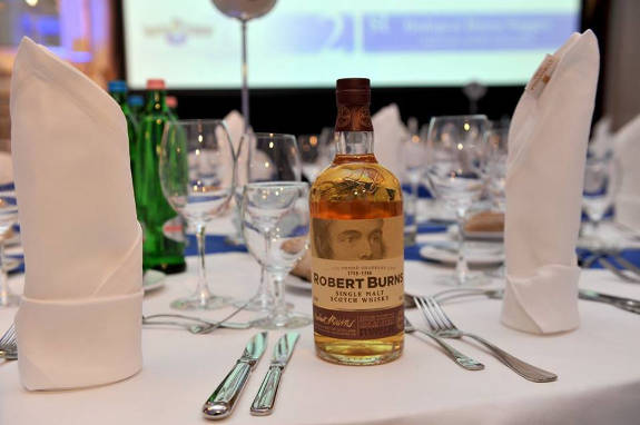 Budapest Burns Supper 2018, the whiskey speciality of the night