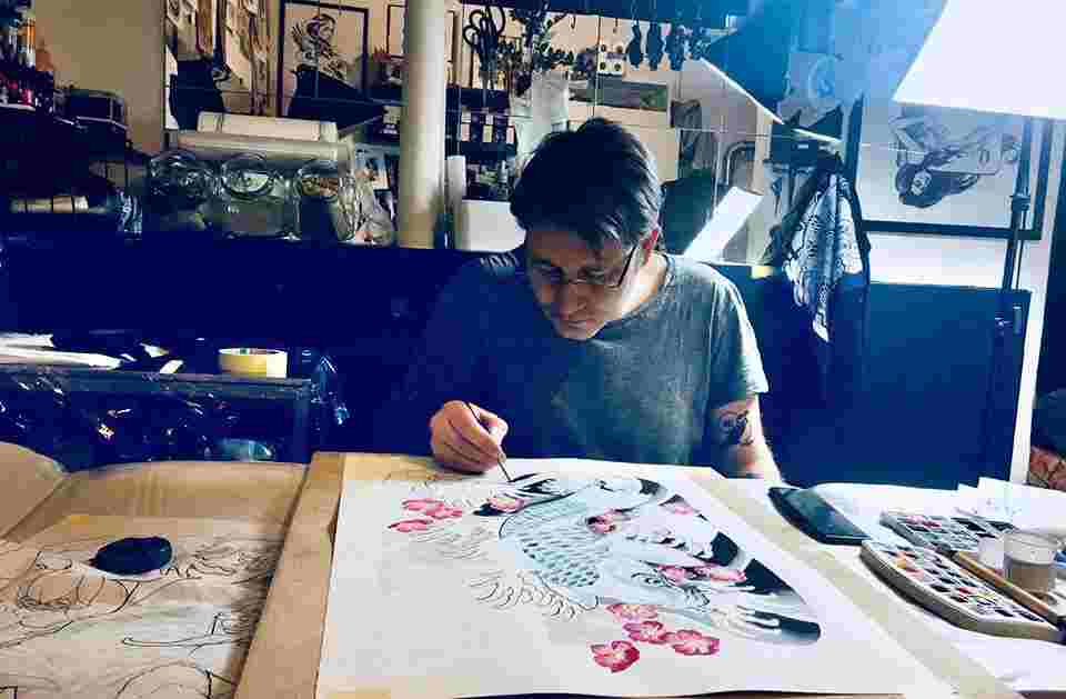 Tattoo Budapest, creation, artist, artwork,