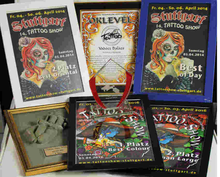 Budapest tattoo, awards, tattoo show, prizes,