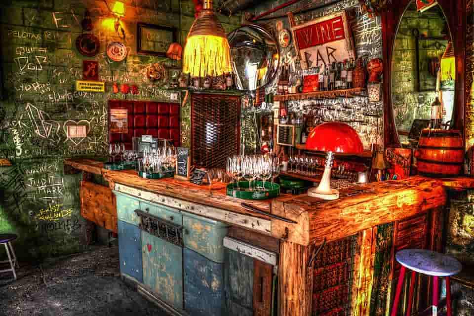 Budapest district VII., ruin pub