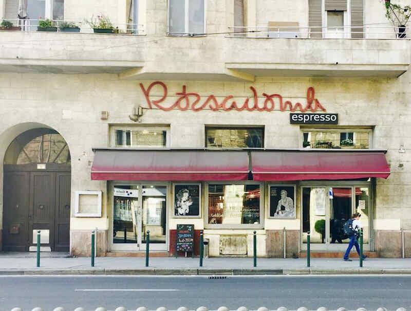 Expat Press Neighbourhood Guide - Rózsadomb espresso