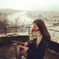 Expat Press Magazine readers' Budapest photos - Szijarto Zsofia portrait