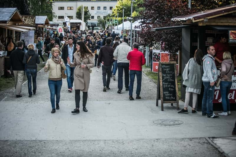 Gourmet Festival Budapest 2018 - visitors in 2016
