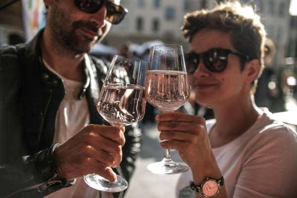 Gourmet Festival Budapest 2018 - happy visitors