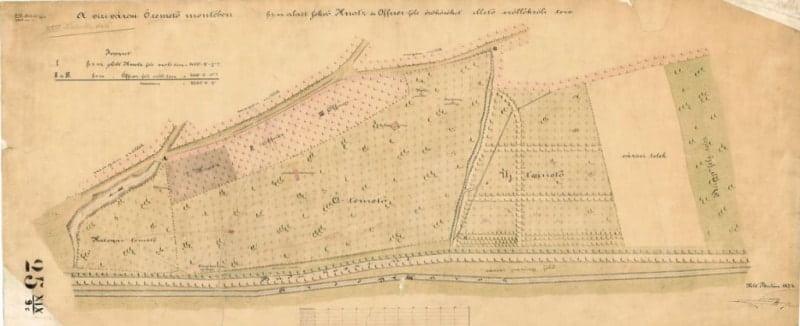 Vizivaros cemetery map
