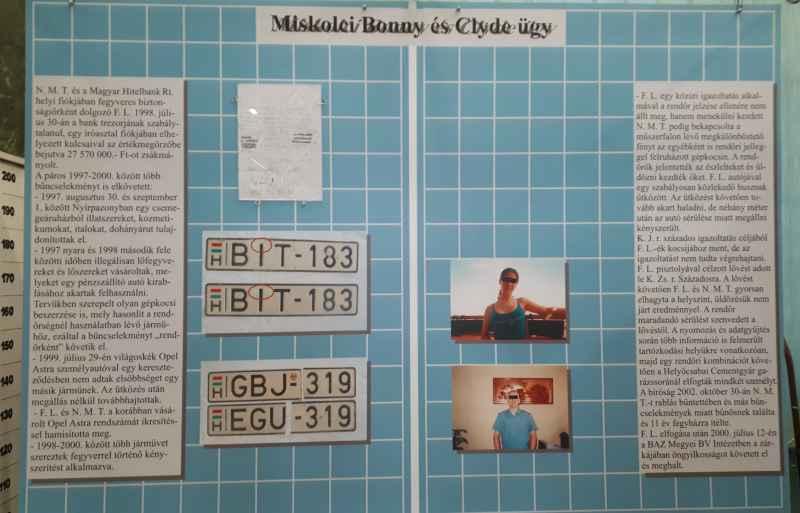 "Miskolc ""Bonny and Clyde"""