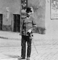 Policeman at his post