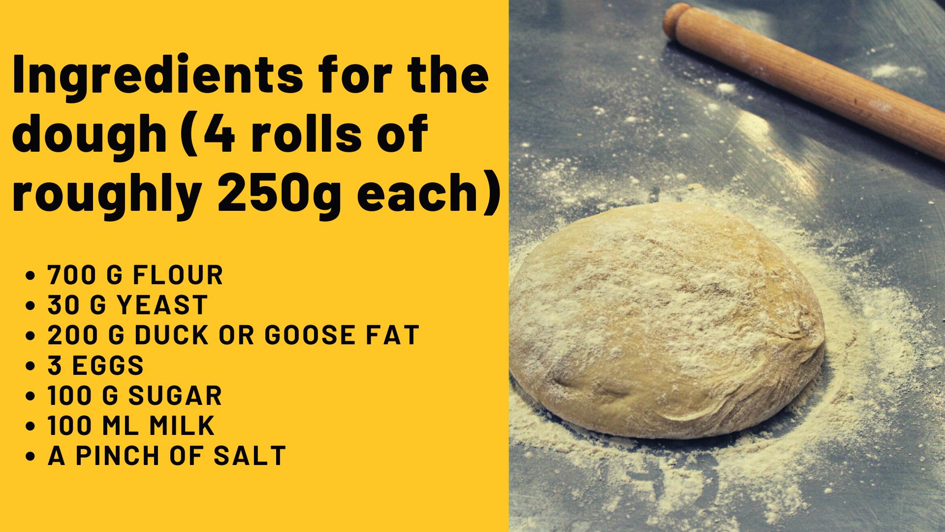 bejgli - dough